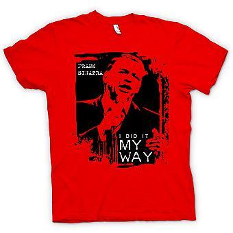 Kids T-shirt-Frank Sinatra My Way - Swing