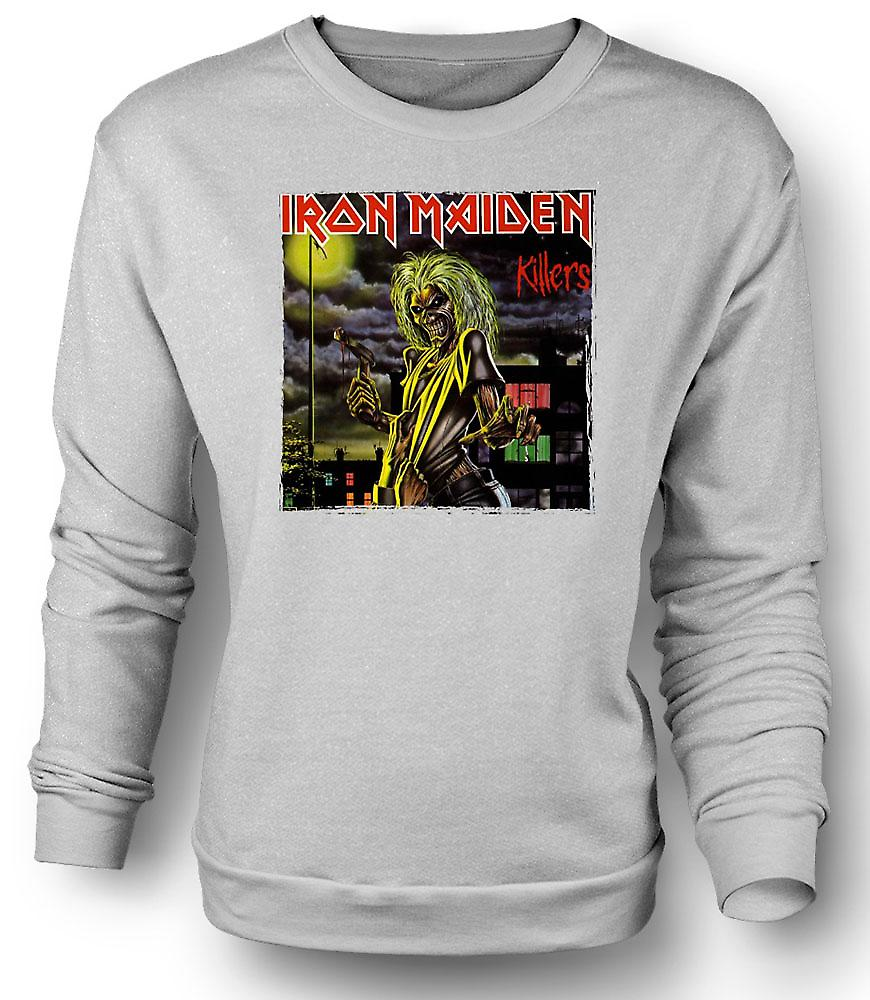 Mens Sweatshirt Iron Maiden - pochettes d'album Killers