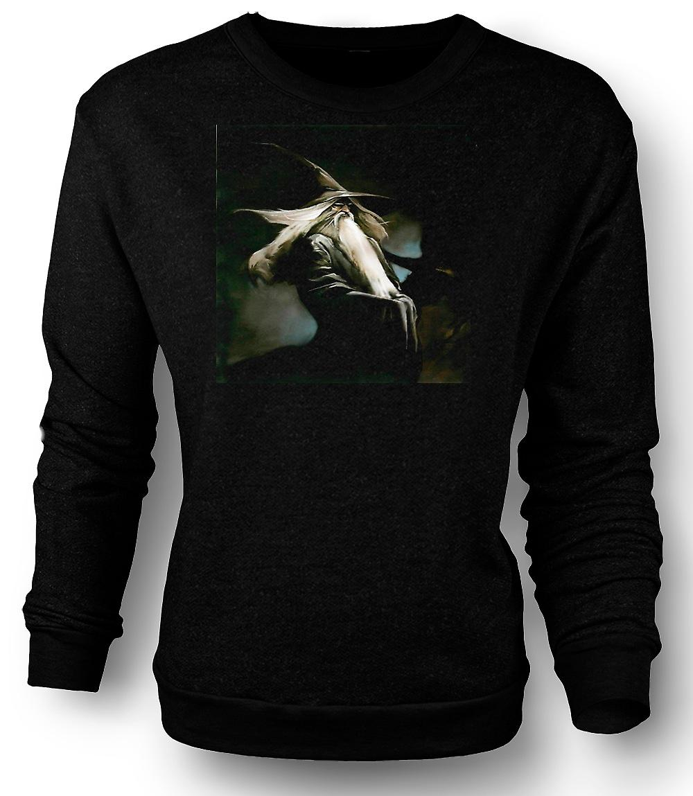 Mens Sweatshirt Gandalf - coole Fantasy