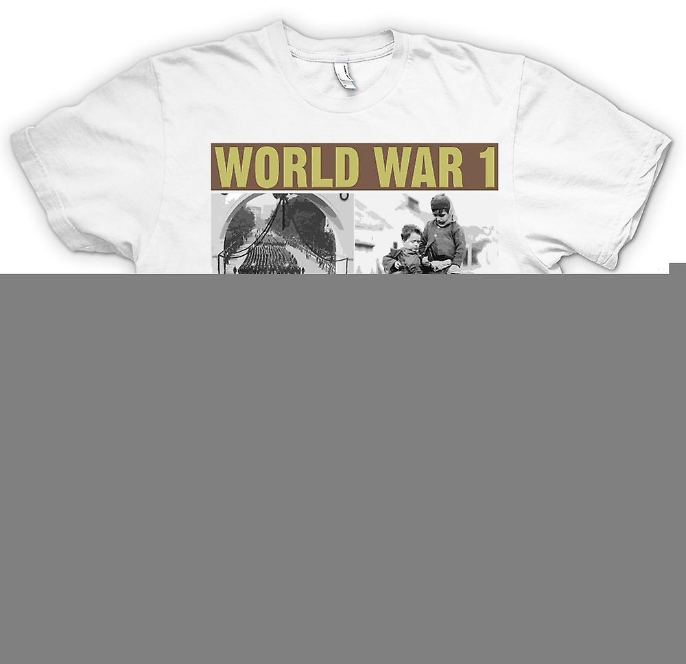 Mens T-shirt - World War 1 - Images de guerre