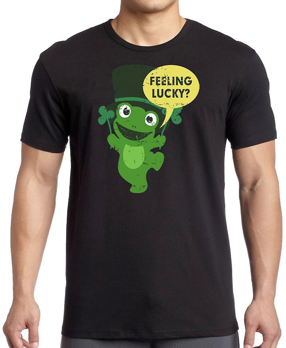 Feeling Lucky - Funny St Paddys Day Women T Shirt