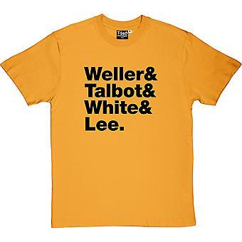 De stil rådets Line-Up mäns T-Shirt