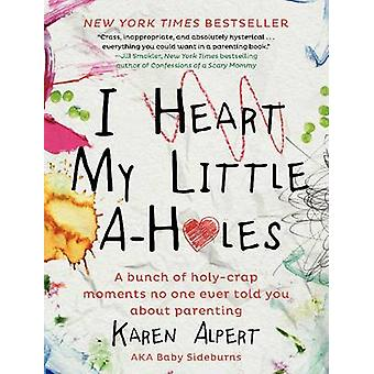 I Heart My Little AHoles  A bunch of holycrap moments no one ever told you about parenting by Karen Alpert