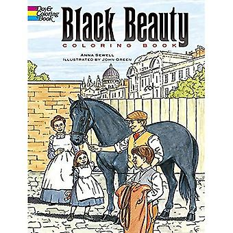 Black Beauty: Livre de coloriage (histoires classiques de Dover Coloring Book)