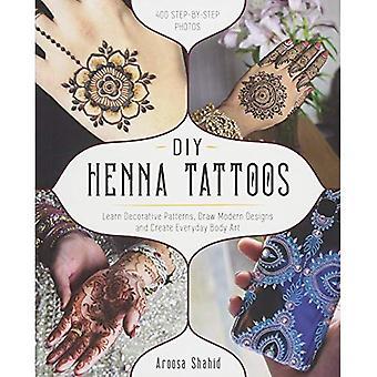Tatouages au henné bricolage
