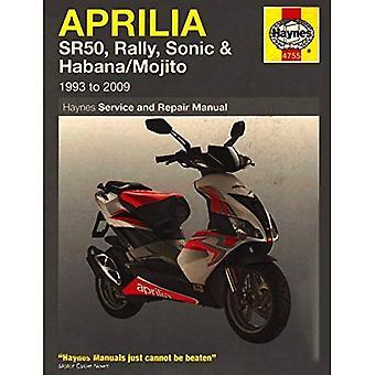Aprilia Sr50 & Sr125 Scooters (85-07)
