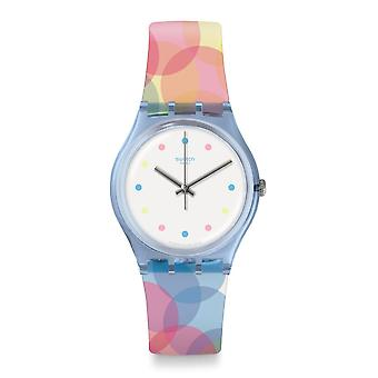 Swatch Gs159 Bordujas Multi Colour Silicone Watch