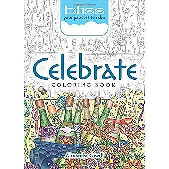 DICHA celebrar! Libro de colorear: Su pasaporte a la calma