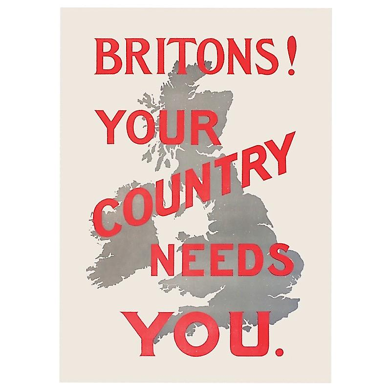 Britons! Your Country Needs You fridge magnet  (hb)