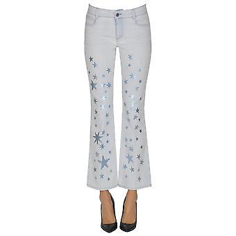Stella Mccartney Light Blue Cotton Jeans