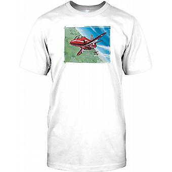 RAF Red Arrows Aerobatic Team Mens T Shirt