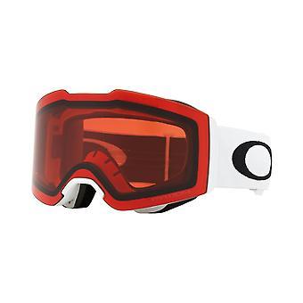 Oakley fald linje - mat hvid/prisme RoseOO7085-11