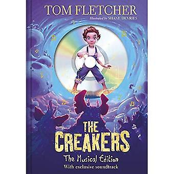 Creakers: L'edizione musica: libro e colonna sonora