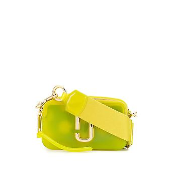 Marc Jacobs Yellow Plastic Shoulder Bag