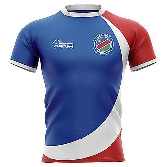 2019-2020 Namibia hem Concept Rugby shirt-barn