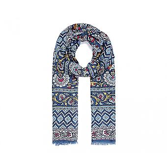 Intrigue Womens/Ladies Bold Aztec Floral Print Scarf