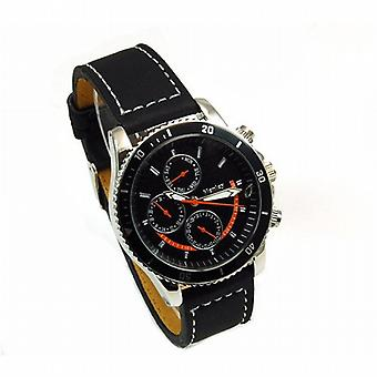 Henley Gents Chrono Effect Black Dial Sports Watch