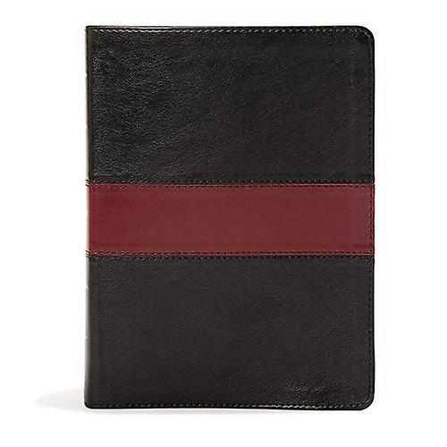KJV Apologetics Study Bible, noir rouge cuirtouch