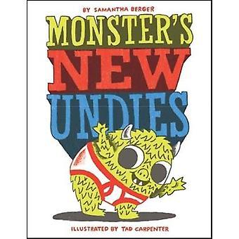 Monster's New Undies by Samantha Berger - 9780545879736 Book