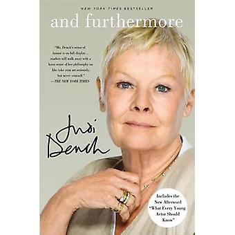 And Furthermore by Judi Dench - John Miller - 9781250002143 Book