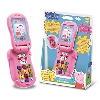Peppa Pig Flip & Learn Phone Ages 18 Months+