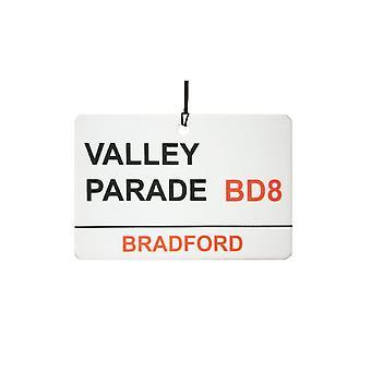 Брэдфорд / Долина парад улице подписать автомобилей освежитель воздуха