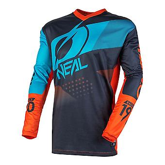 ONeal Grey-Orange-Blue 2020 Element Factor MX Jersey