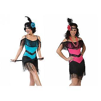 Charleston Dress Women's Costume 20s Dancer Fringe Dress Carnival Theme Party Costume Ladies