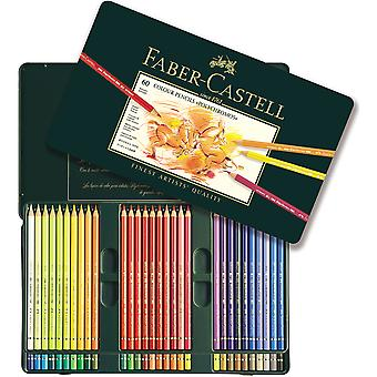 Polychromos Colored Pencil Set In Metal Tin 60pc- 110060