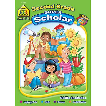 Super Scholar Workbook Second Grade Szssw 2463