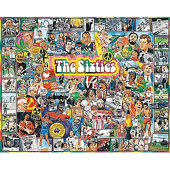 The Sixties 1000 piece jigsaw puzzle 760mm x 610mm  (wmp)