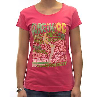 Camiseta Roxy Surfin The Ocean Tee - Talla M