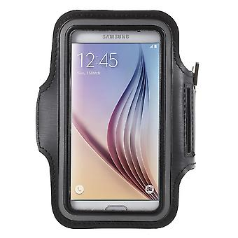 Armband sport pouch for Samsung Galaxy S6 (black)