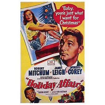 Holiday Affair Movie Poster (11 x 17)