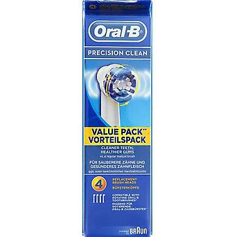 Oral B Replacement Toothbrush EB20-4 Pack 4 you (Damen , Ästhetik , Zahn Schönheit)