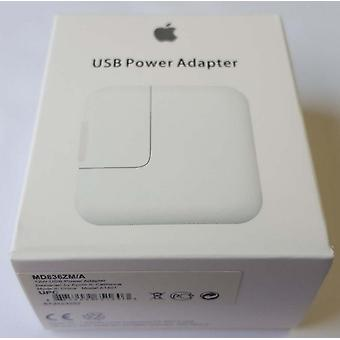 Opprinnelige blemme 2 x Apple MD836ZM/A USB strømadapteren 12W, reise lader A1401, iPhone iPad iPod