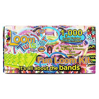 Vävstol Twister band kul vävstol Kit - 1000 band