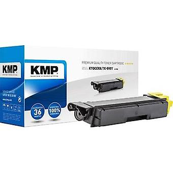 KMP Toner cartridge replaced Kyocera TK-590Y Compatible Yellow 5000 pages K-T55
