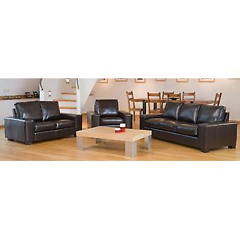Lila May Leather 2 Seater Tub Sofa In Choice Of Colours
