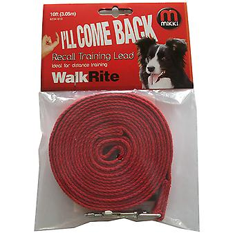 Mikki Cotton Web Lead 3m (10ft)