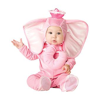 Pink Elephant Animal Baby Girls Infant Costume
