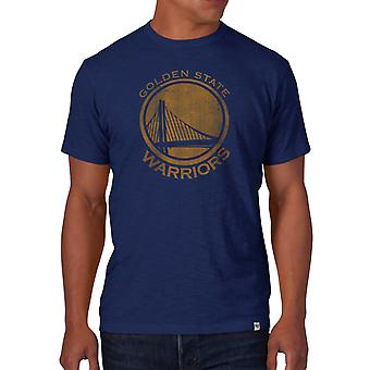 47 fire SCRUM slim shirt - NBA Golden State Warriors royal