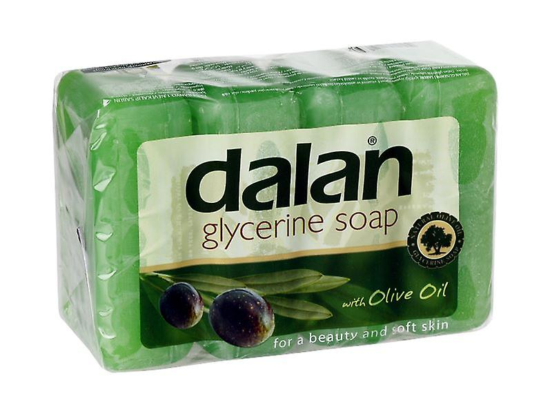 Dalan Glycerine Soap With Olive Oil 4-Pack 4x150g