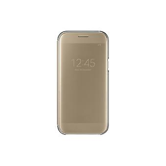 SAMSUNG KLAR VIEW COVER GALAXY A5 2017 GOLD EF-ZA520CFEGWW