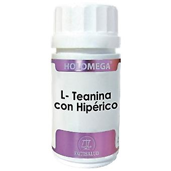 Equisalud L-Theanin med Holomega Hiperico Cap 180