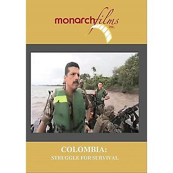 Colombia: Kampen for overlevelse [DVD] USA importerer