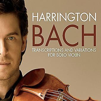 Gregory Harrington - Bach Transcriptions & Variations [CD] USA import