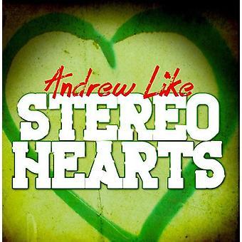 Andrew Like - Stereo Hearts [CD] USA import