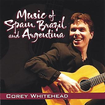 Corey Whitehead - Music of Spain, Brazil, and Argentina [CD] USA import