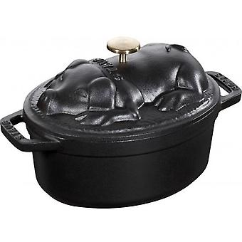 Staub Pig Cocotte (Home , Kitchen , Kitchenware and pastries , Pots and saucepans)